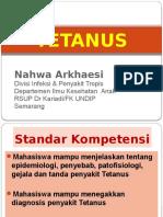 20. TETANUS New - Dr.nahwa
