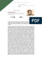 Julio Cortázar Lector - Entrevista Por Sara Castro-Klaren