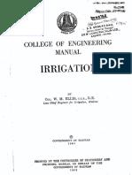 Irrigation Manual by Ellis