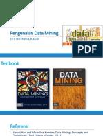 1. Pengenalan Data Mining