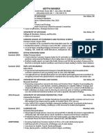 banerji aditya resume
