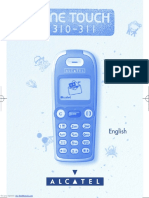 Alcatel One Touch 310 User Manual
