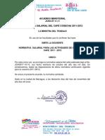 Acuerdo Ministerial071111.Cafe 2011-2012