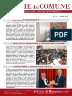 Notizie Dal Comune di Borgomanero del 13 Aprile 2017