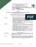 Pola Ketenagaan Dan Persyaratan Kompetensi Tenaga Yang Memberi Layanan Klinis