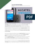 Rom Stock Alcatel OT M
