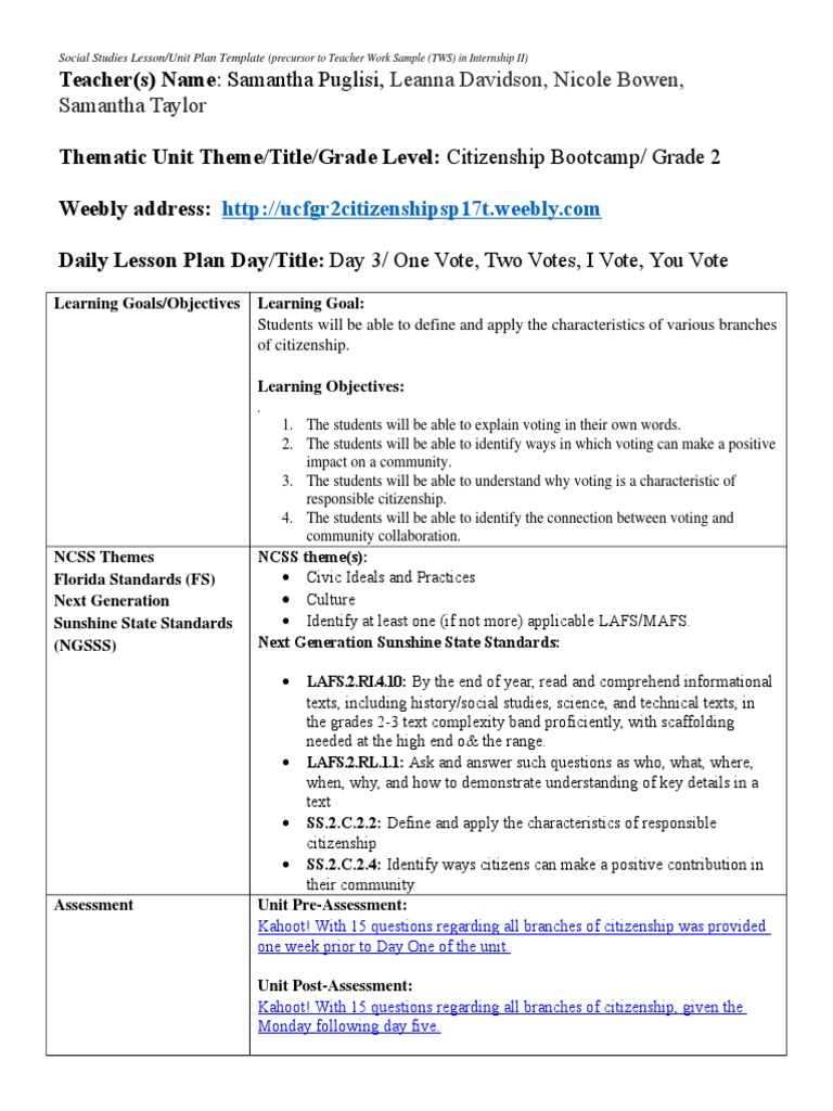 Voting Lesson Plan English As A Second Or Foreign Language Voting