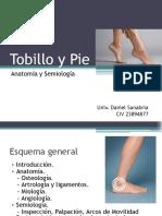 Tobillo y Pie, Ortopedia y Traumatología.