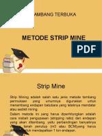 Metode Strip Mine