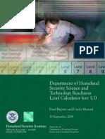 DHS_ST_RL_Calculator_report20091020.pdf