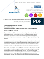 Abstract – Davide Anguita | RailTech.com