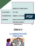 t.9 La Administracion Tributaria (1)