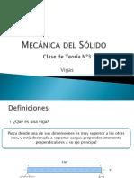 Teoría DE MECÁNICA DEL SOLIDO