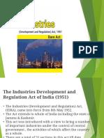 industries regulation act