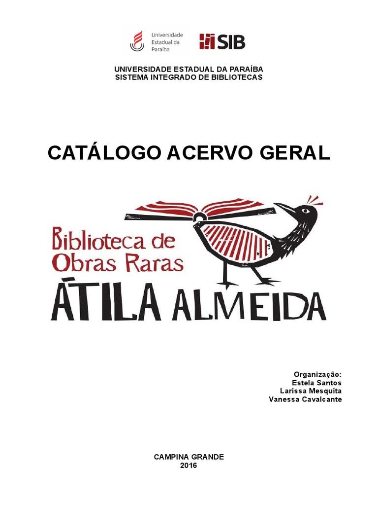 df8d94b4b3354 Catálogo de Livros 2016 - Atila