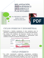 Implantación Embriogenesis y Desarrollo Placentario