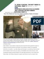 Iran-contra, Secret Wars & Covert Operations-Vaughn