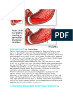 Assessment for Peptic Ulcer
