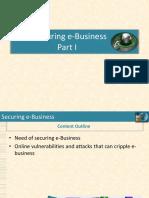 Securing E-biz