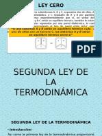 Segunda Ley de La Termodinámicaexposicion