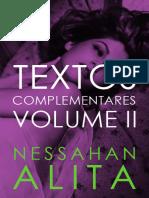 Textos Complementares Vol.2 - Nessahan Alita.epub