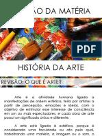 Revisão de História da Arte