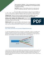 Tecnologías de red y diseño de una pequeña red