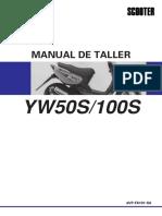Manual Servicio YW100 BWs100