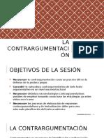 Contrargumentación (Propuesta de Reformulación)