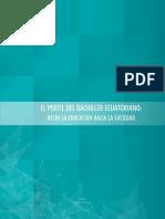 Perfil Del Bachiller Ecuatoriano 2015