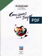 ROGIER, C.; MARCEILLAC, E. - Canciones para jugar.pdf
