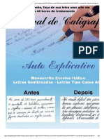 Manual de Caligrafía