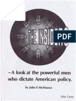 INSIDERS PAMPHLET-A Look at the Powerful Men.. ' . Who Dictate American Policy. by John F. McManus-28