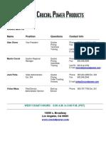 Cpp Contact Sheet