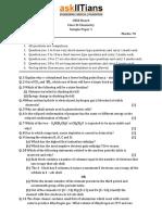 Chemistry Solved Sample Paper1