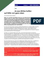 Afrikanische Delegierte Vollversammlung Deutschland