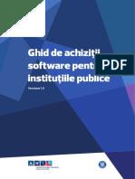 Ghid Achizitii Software Pentru Institutiile Publice v1.0