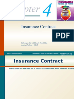 260123057 Chapter 4 Insurance Contract