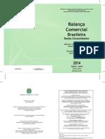 Balança Comercial Brasileira (Dados Consolidados) - 2014