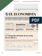 La radiografía del fondo de inversión FRANOPR B-1  El Economista