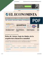 Bolsa de Atenas, bajo los límites de la arquitectura financiera mundial  El Economista