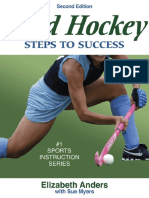 Elizabeth Anders; Sue Myers Field Hockey Steps to Success