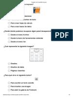 Preguntas Sobre OpenOffice Impress
