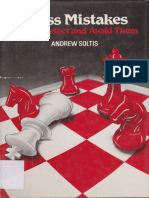 Extracted Pages From Chess Mistakes How to Detect and Avoid Them - Soltis