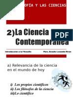 La Ciencia Contemporánea