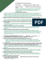 Technical Questions List v 62