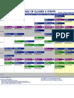 Jadwal NCI class dari 19 - 25 Juli