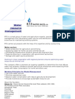 R.T.S. Water Ways Ltd -- About the Company