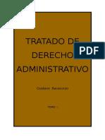 TRATADO DE DERECHO ADMINISTRATIVO - TOMO I - GUSTAVO BACACORZO.doc