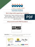 CFSD Foundation Flyer